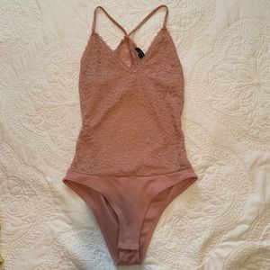 Blush Pink Bodysuit